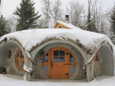 Le Troglo en hiver